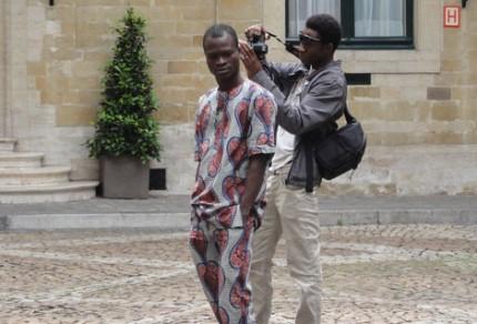 Thierry Oussou et Nestor Da in Brussels